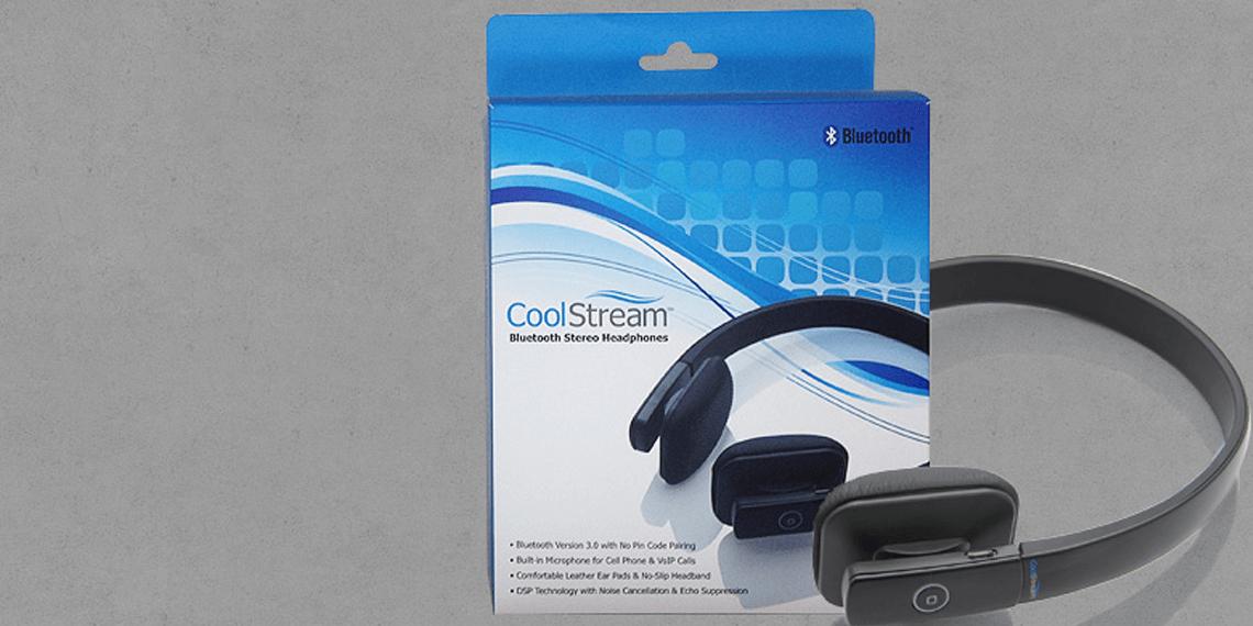 CoolStream Bluetooth Headphones