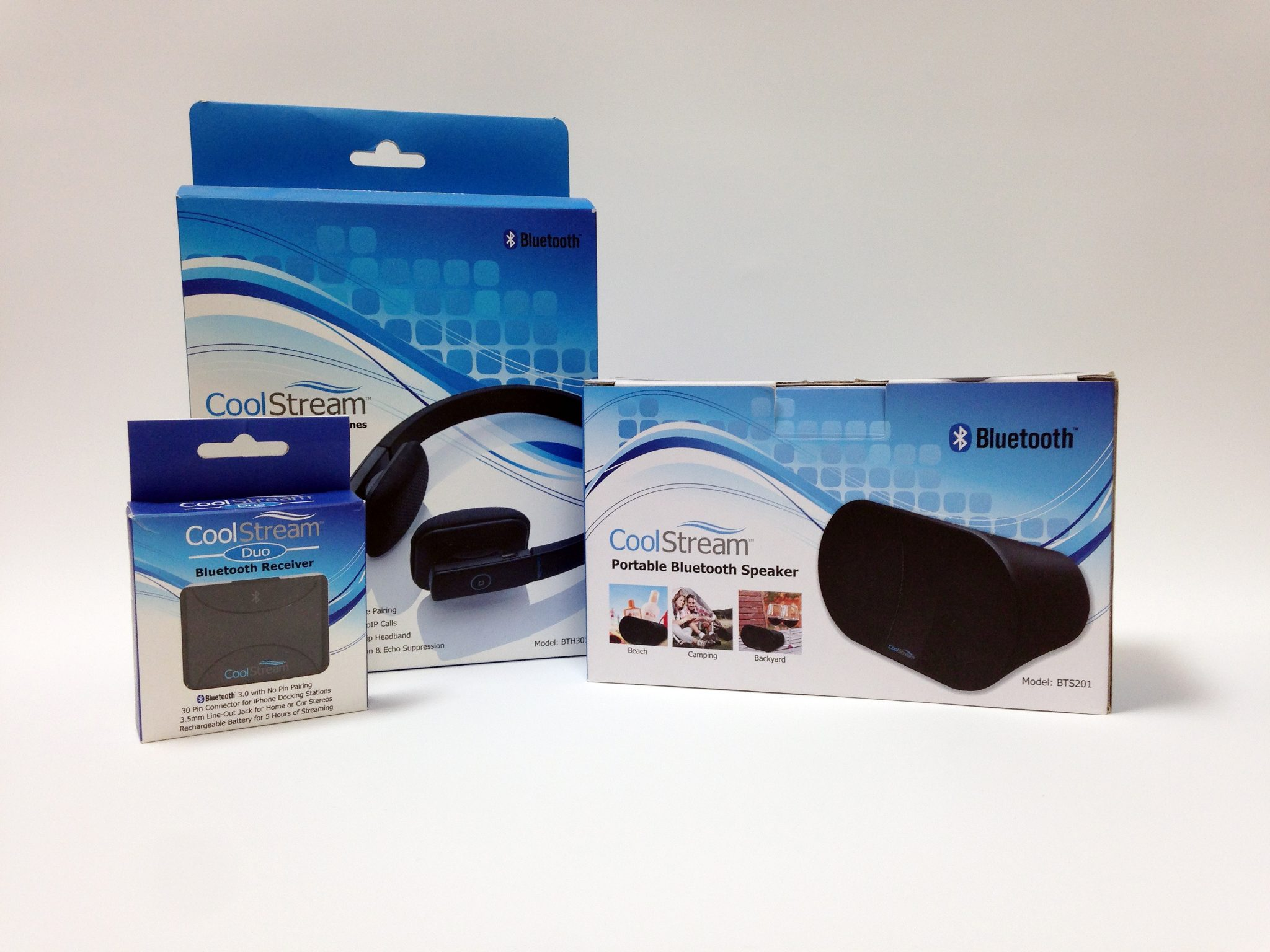CoolStream Product Packages