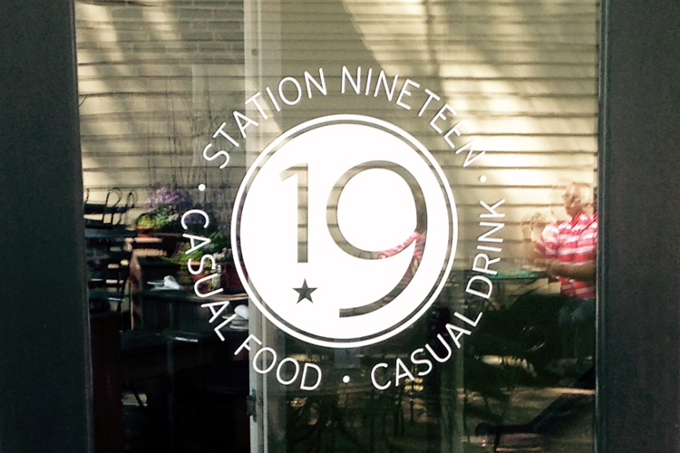 station19 logo on door