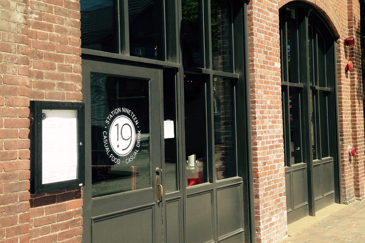 station19 logo on door Exeter NH